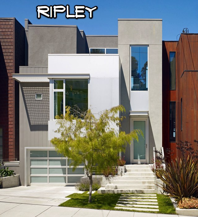 Three bernal homes selected for schwanky architecture tour - Limpressionnante residence bernal heights san francisco ...