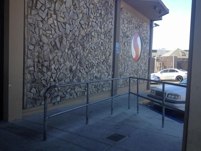 Safeway's empty shopping-cart corral