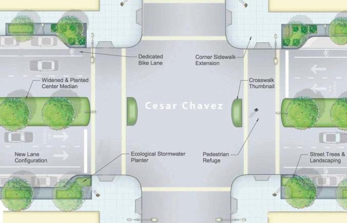 CesarChavezPlanview