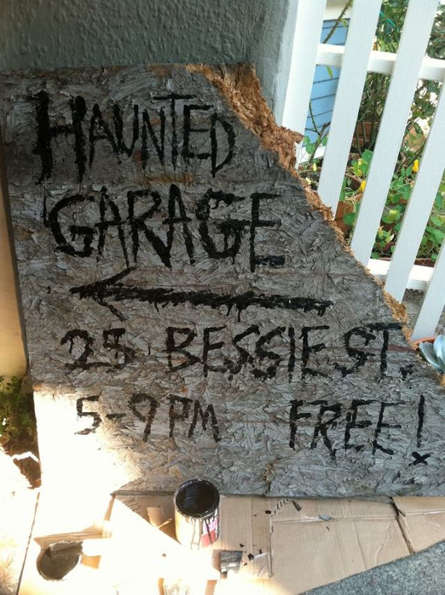 25 Bessie Haunted Garage