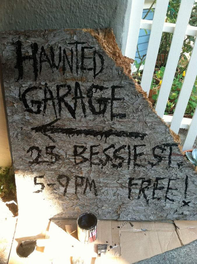 25 Bessie Haunted Garage