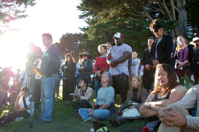 Vigil for Christy Svanemyr