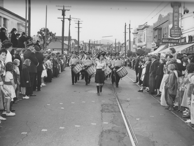 Bernal Heights Library Dedication, October 20, 1940