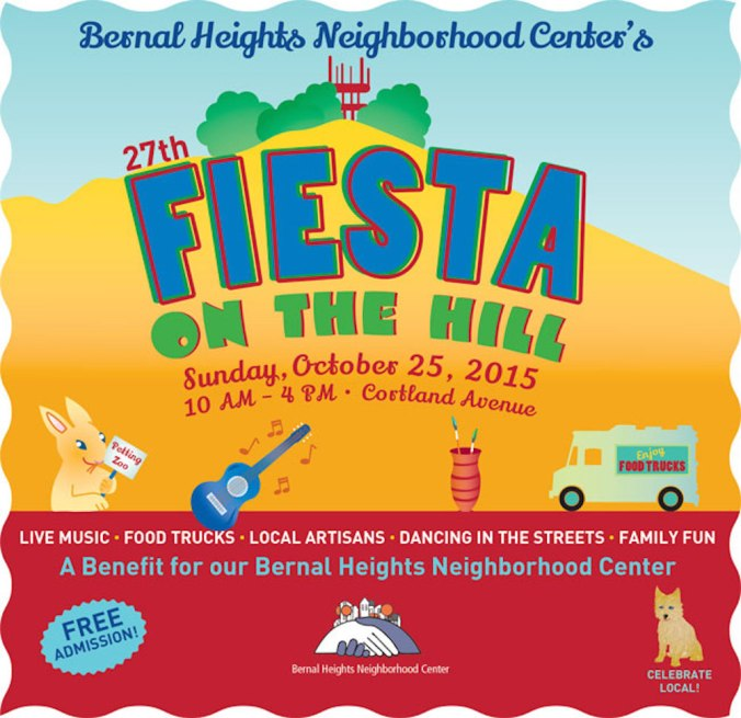 Fiesta on the Hill poster