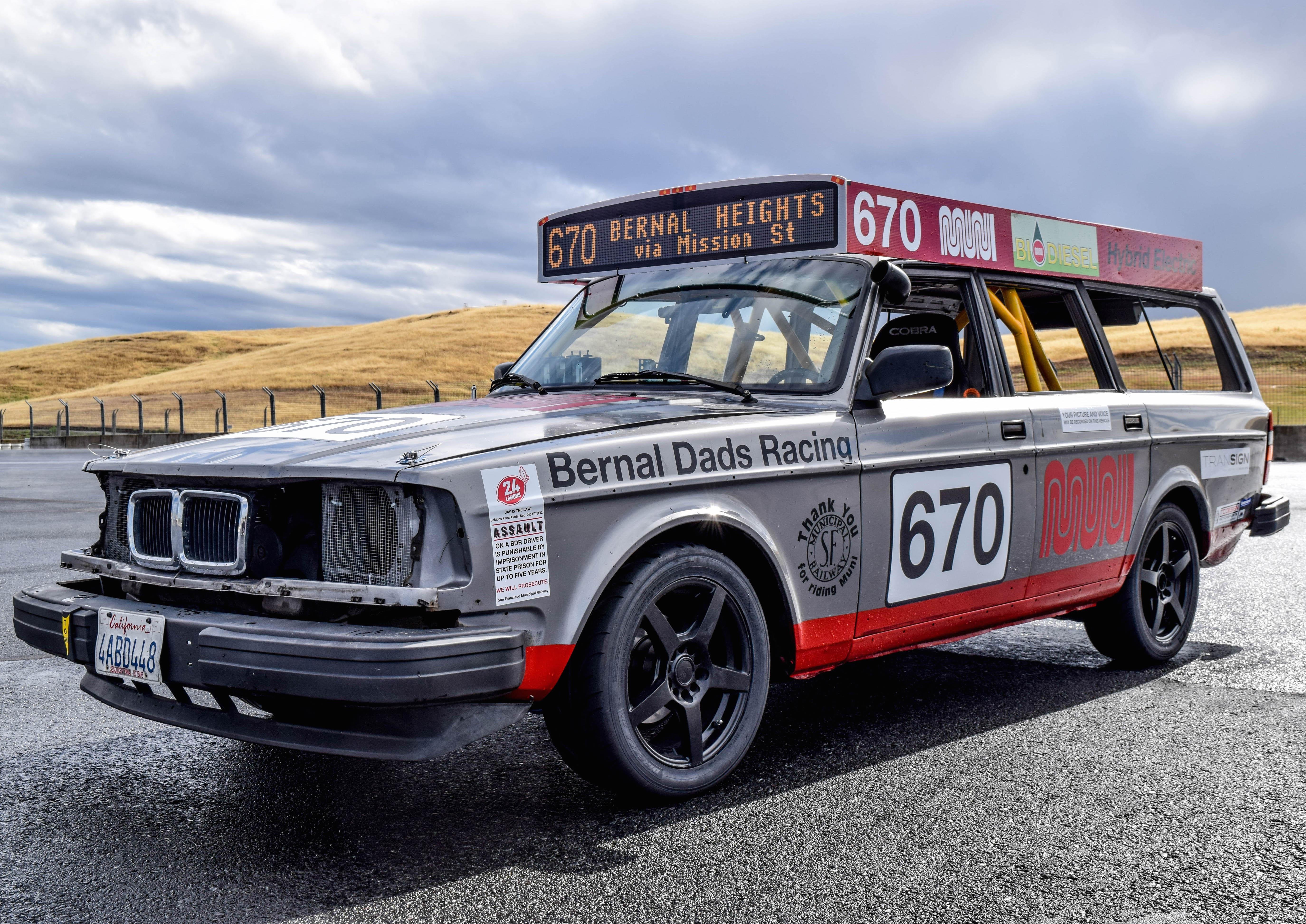Bernal Dads Build Muni Race Car to Speed Up Public Transit