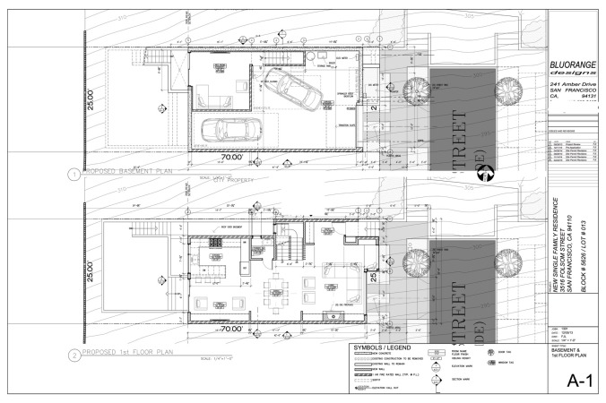 3516 Folsom, ground floor plan