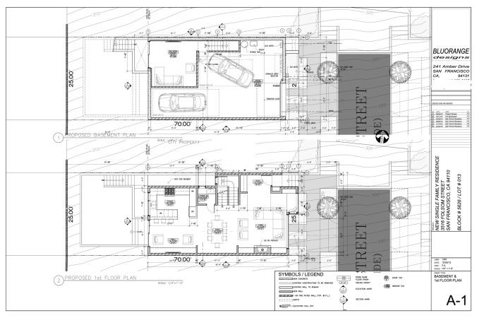 3516 Folsom, ground floor plan