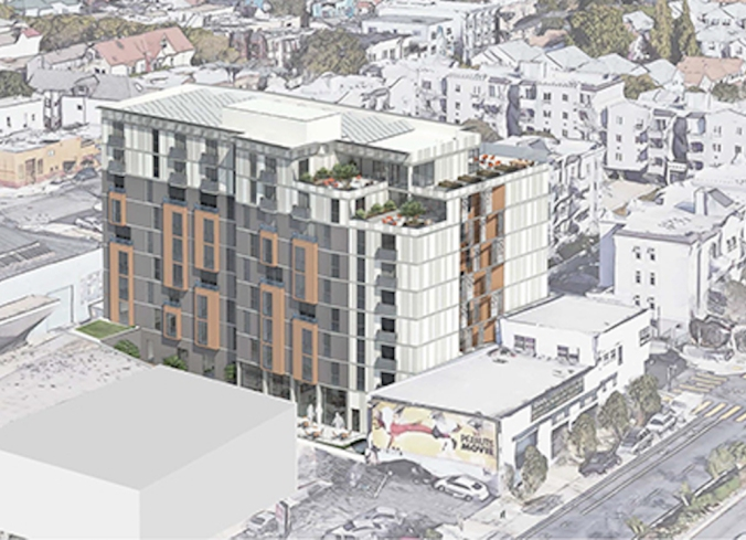 New rendering of proposed 1296 Shotwell design. Source: MEDA