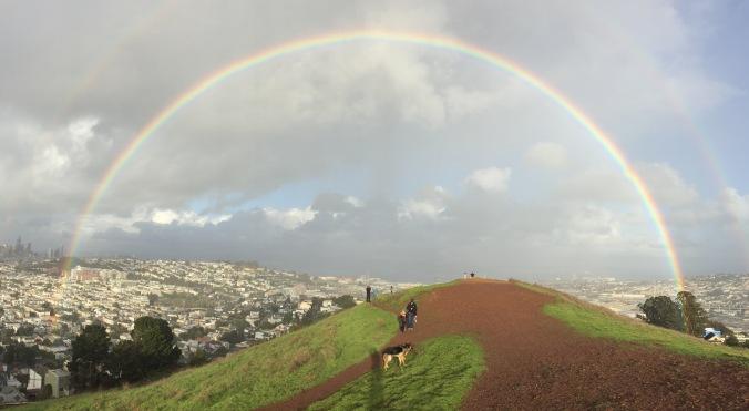 rainbowoverbernalhill